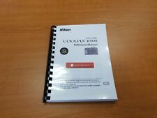 NIKON COOLPIX B500 CAMERA PRINTED INSTRUCTION MANUAL USER GUIDE 195 PAGES A5