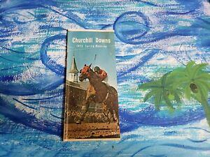 1972 Chuchill Downs Program Oaks Riva Ridge Horse Racing