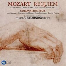 "Mozart: Requiem; Mass No. 16 ""Coronation"" (Harnoncourt) (CD 2016) New & Sealed"