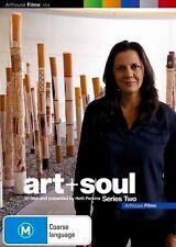 Art + Soul : Series 2 (DVD, 2014)  Brand New & Sealed Region 4 DVD - Free Post