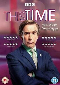THIS TIME WITH ALAN PARTRIDGE Season 1 (Region 4) DVD The Complete BBC Series