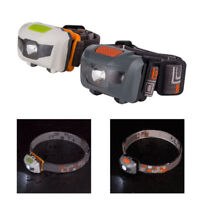 Super Bright 500LM Mini Headlight R3+2LED Waterproof  Headlamp Head Torch Light