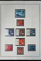 Germany DDR 1950s to 1960s Mint Stamp Collection