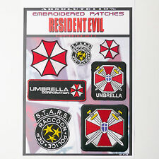 RESIDENT EVIL Umbrella Corporation - Iron-On Patch Mega Set #58 - FREE POST