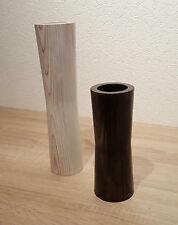 Handgefertigte dekorative Vasen aus Holz