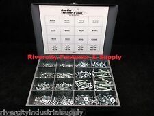 Metric Bolt, Nut, Flat & Lock Washer Assortment 630 Piece Grade 8.8 With Tray