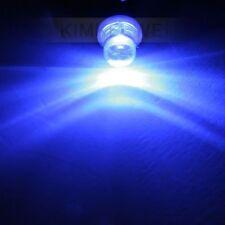 2x Blue Car LED Side Interior Light Bulbs T4W 12V BA9S