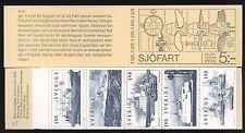 SWEDEN - SVEZIA - Libretto - 1974 - Navi mercantili