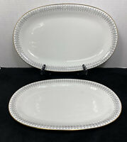"Winterling ""Roslau"" Bavaria 2 Pc. Serving Platter Set"