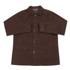 LANDS' END Blanket Lined Collared Coat | Medium | Chore Cord Jacket Vintage