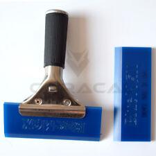 2 Pcs Blue Max Vinyl Squeegee & Handle Car Film Window Tint Tools Kits US Ship