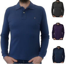 Polo Maglia Maniche Lunghe Uomo Jaggy Polo Shirt Sweater Men Long Sleeves Rugged