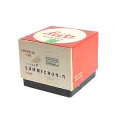 Leica 90mm f/2 Summicron-R Lens Box