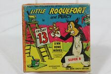 Little Roquefort And Percy Friday the 13th CBS Films 8mm Movie Terry Toons 1965