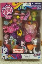 My Little Pony Spa Pony Set: Kohls - Rarity, Rainbow Dash, Star Dreams - New