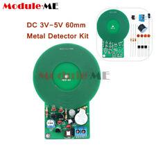 METAL DETECTOR Kit Elettronica Kit DC 3V-5V 60mm sensore senza contatto Kit fai da te