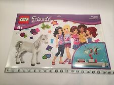 Lego Friends Set 851417 Complete wall Sticker Label Decal Brand New Mural Horse