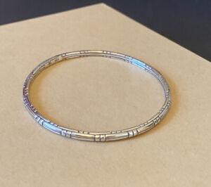 JOHN HARDY Sterling Silver Bamboo Bangle Bracelet