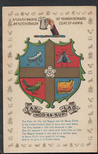 Yorkshire Postcard - Ist' Yorkshireman's Coat of Arms  DP831