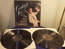 The Very Best of LIBERACE Candlelight Love Vinyl 2 Records Set Album LP AVI