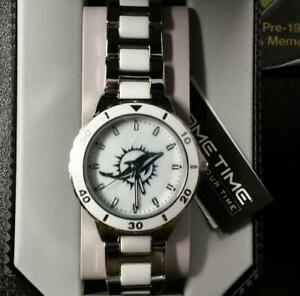 NFL Miami Dolphins Women's Pearl Watch