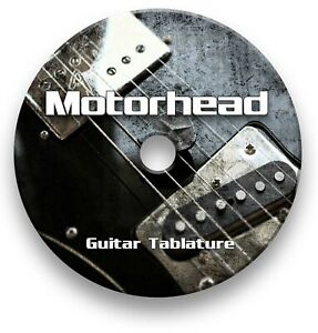 Motorhead Rock Guitar Tab Tablature Lesson Software CD - Guitar Pro