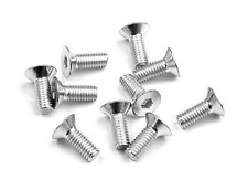 Xray RC Car spares Hex Screw SFH flat head M3x8 - Silver Part XR904308 RC Car