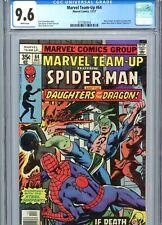 Marvel Team-Up #63 CGC 9.6 WP Spider-Man Daughters of Dragon Marvel Comics 1977