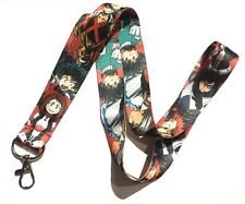 MY HERO ACADEMIA LANYARD Boku no Midoriya All Might Deku anime neck strap 3Z
