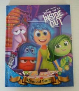 Disney Pixar Inside Out Magical Story Reading Book 3D Cover Kids Age 3+ years