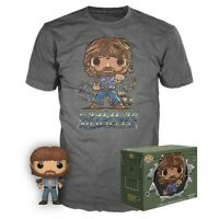 Funko POP! Movies Collectors Box Chuck Norris #673 POP! & Tee Size Small Sealed