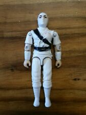 "GI Joe Cobra 3.75"" Figure Vintage Gijoe Storm Shadow 1984 White"