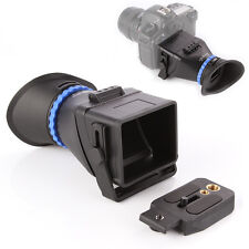 """Universal 3.0X 3""""-3.2"""" LCD Viewfinder Magnifier for Camera Canon Nikon 5D II III"""