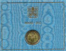 VATICANO. 2012. 2 EURO CONMEMORATIVOS. VII INCONTRO MONDIALE DELLE FAMIGLIE