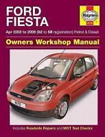 Haynes 4170 Manual for Ford Fiesta Petrol & Diesel 2002-2008