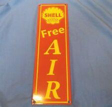 "/""MOBIL FREE AIR/"" Sticker Decal VINYL Garage Promo Service Station OIL PETROL"