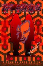 """The Shining Kubrick """"Redrum. Redrum. REDRUM! """" 11 x 17 High Quality Poster"""