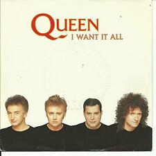 7'Queen >I want it all/Hang on in there<   Germany TOP