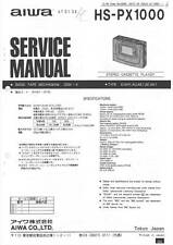 AIWA HS PX1000 - SERVICE MANUAL IN COLOR VERSION - Languages: EN, JP 日本語 -