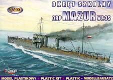 Mirage - Torpedoboot Mazur 1935 Bateau wz 35 - 1:400 modèle-kit