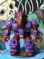 Hasbro Battle Beasts Series 1 - #25 Bloodthirsty Bison Working Rub - No Weapon
