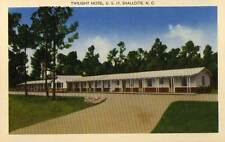 1939 SHALLOTTE NC early Twilight Motel S of Wilmington postcard