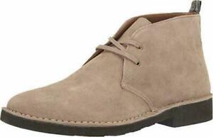 Polo Ralph Lauren Men Chukka Boots Talan Size US 12D Grey Suede