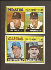 1967  TOPPS  Lot of 2 Team's Rookie Stars:  PIRATES  +  CUBS   EX, EX+