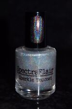 Spectraflair Holographic Top Coat + Added Sparkle ~ 15 ml. Full Size (Boxed)