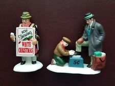Dept 56 Christmas in the City Heritage -All Around the Town #5545-0 New Retired
