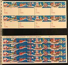 1972 Christmas Seals Gift & Pressure Sensitive Labels - Item #5151
