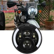 "For 2018 2019 Royal Enfield Himalayan 7""inch Motorcycle LED Projector Headlight"