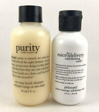 NEW PHILOSOPHY PURITY ONE STEP FACIAL CLEANSER MICRODELIVERY EXFOLIATING WASH