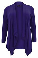 New Ladies Navy Jumbo Baggy Cardigan 8-26